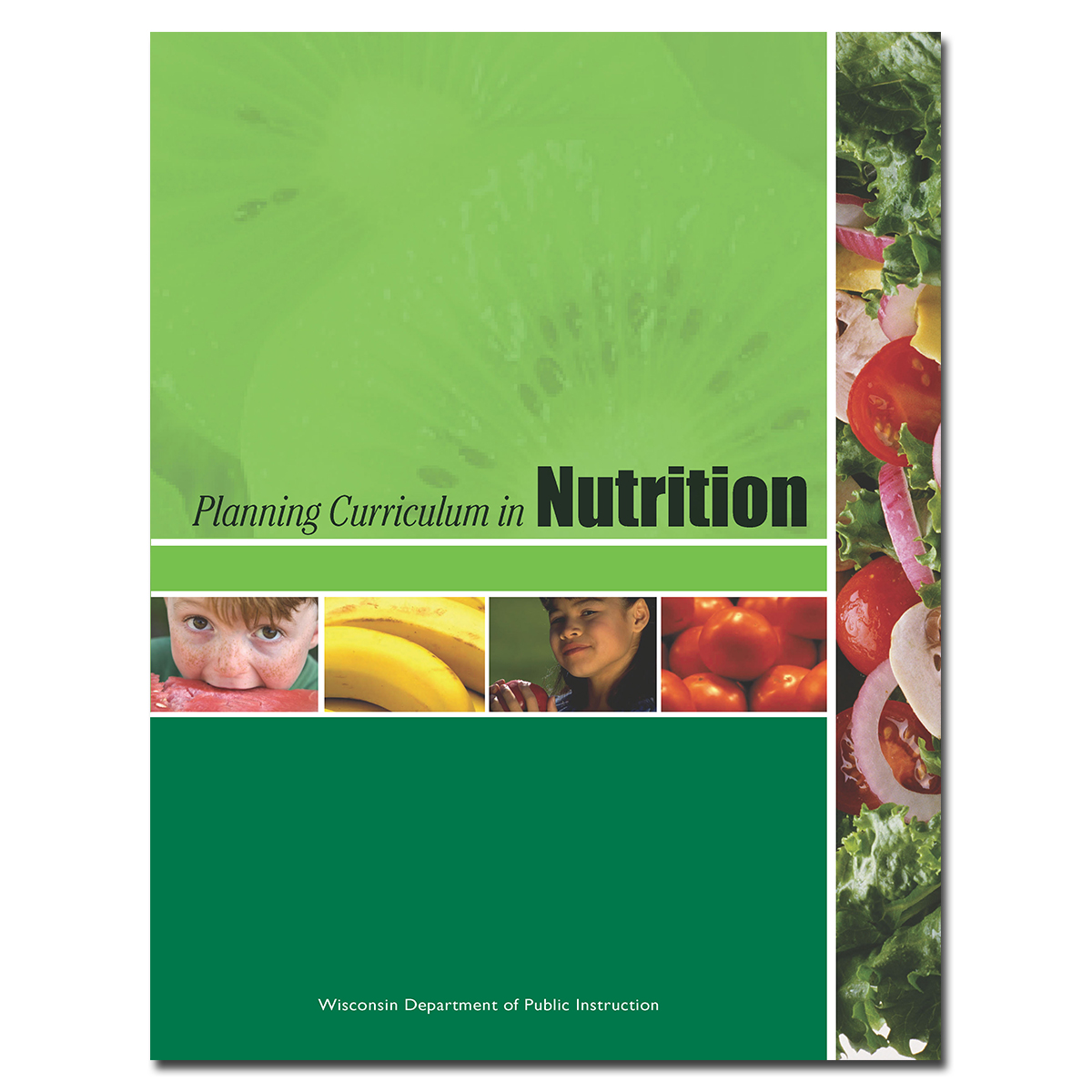Planning Curriculum in Nutrition Cover
