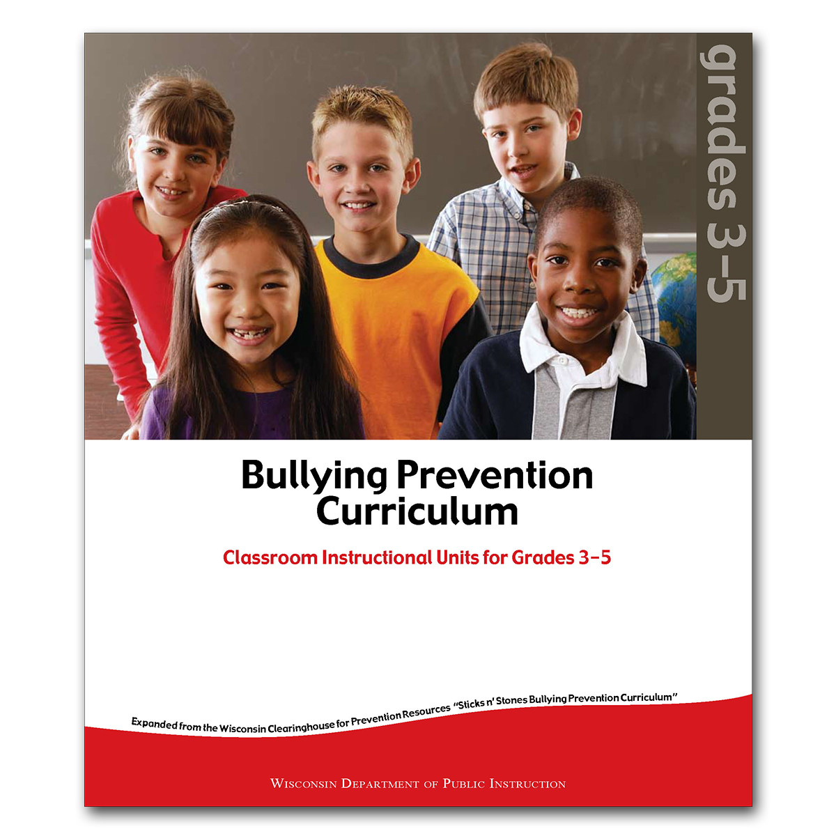 Bullying Prevention Curriculum: It's Time to Act, Units for Grades 3-5 Cover