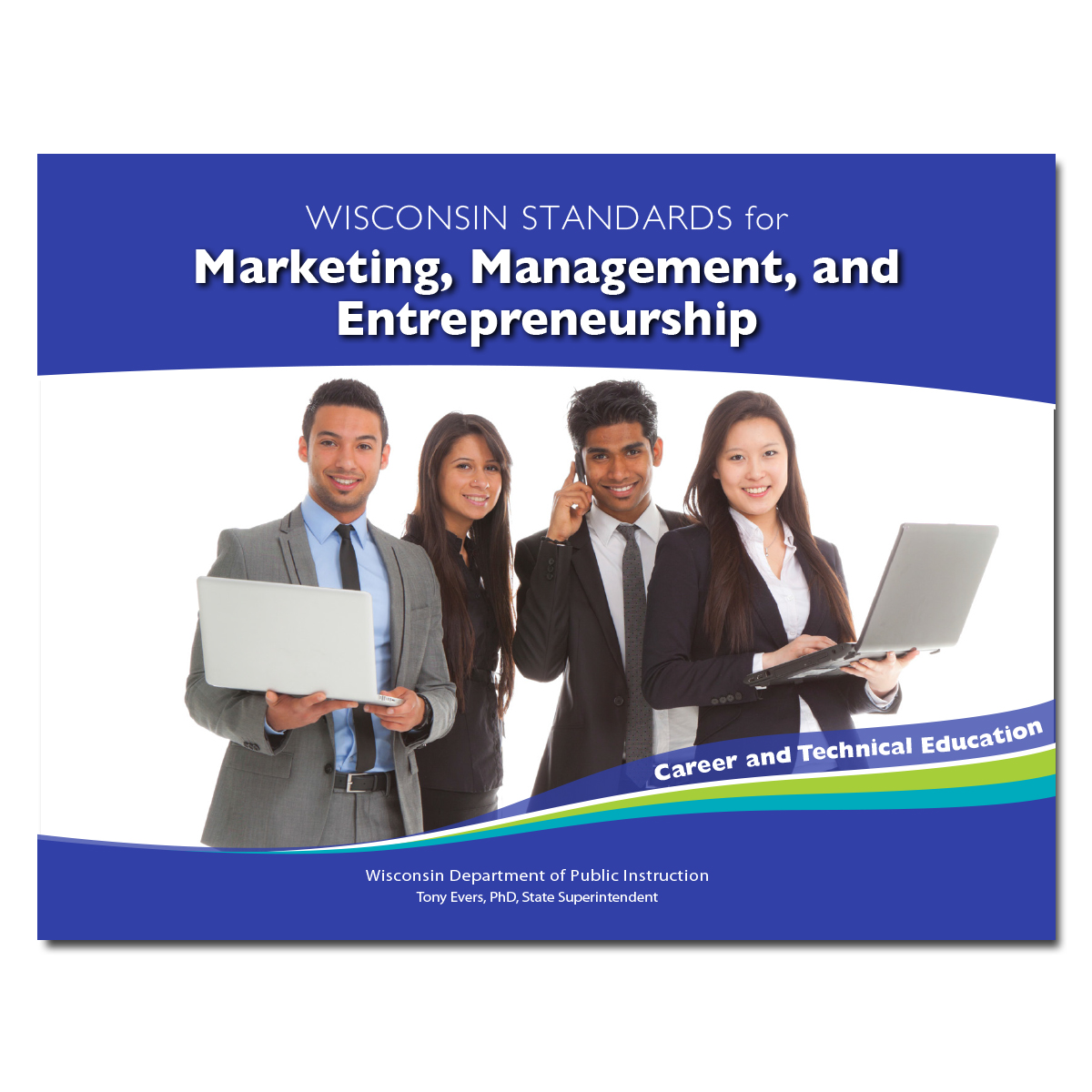 CTE Standards for Marketing, Management, and Entrepreneurship Cover