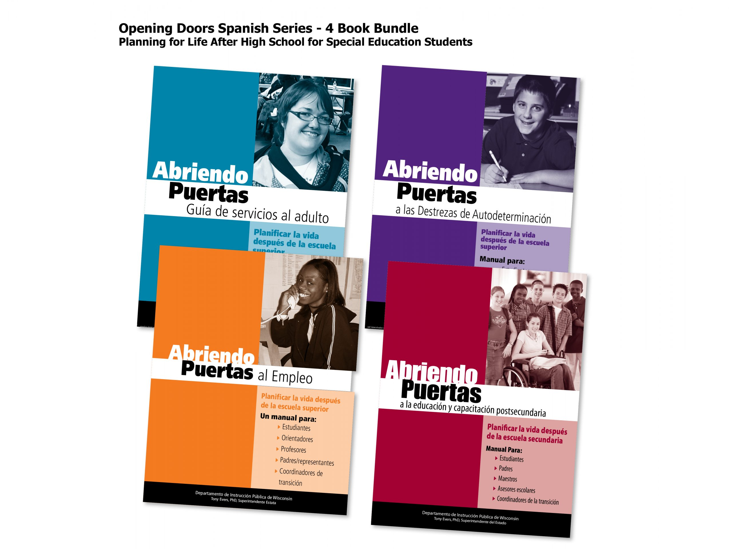 Opening Doors in SPANISH Bundle Covers