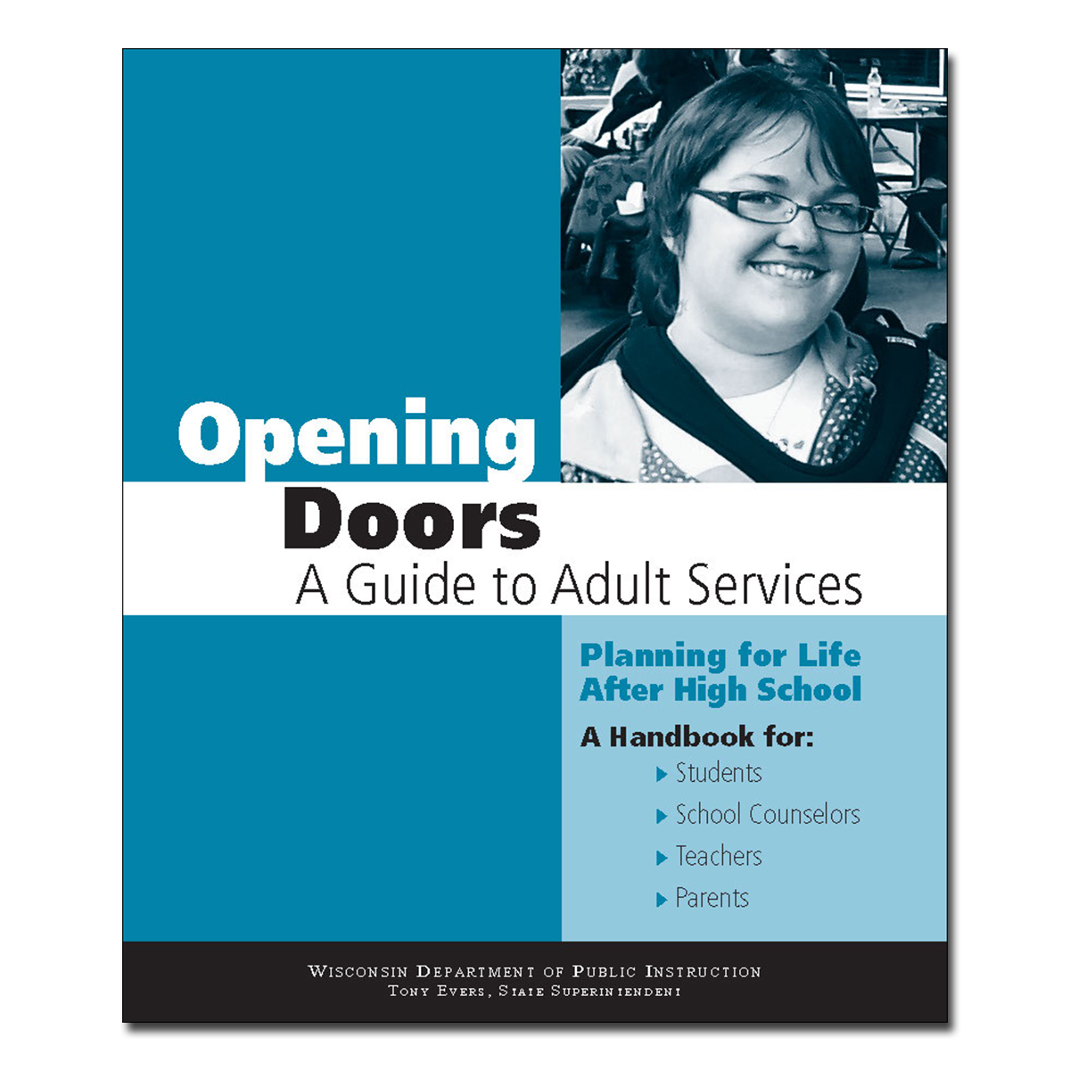 Opening Doors to Adult Services in English Cover