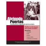Opening Doors to Post-Secondary Education in Spanish Cover