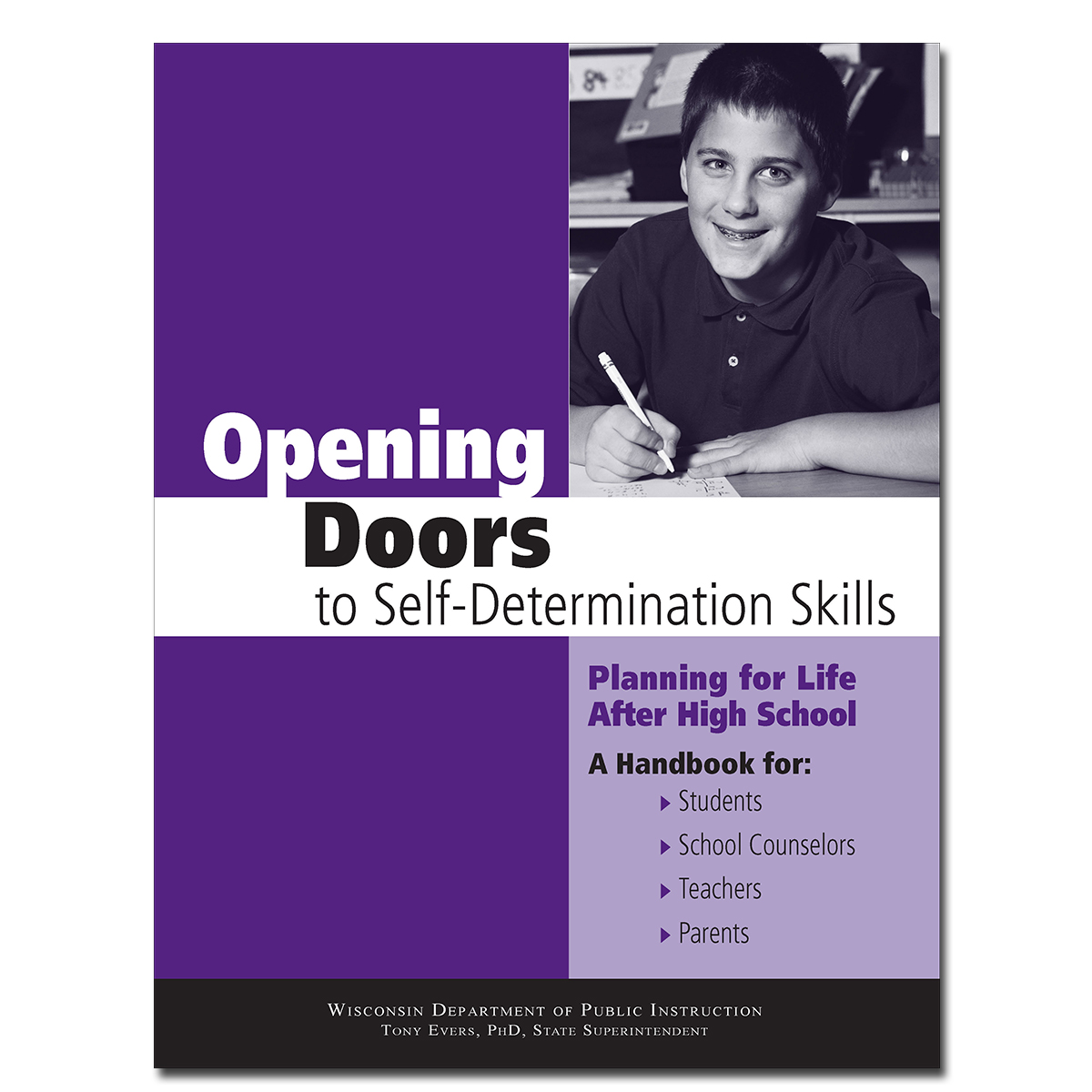 Opening Doors to Self-Determination in English Cover